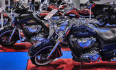 摩托自行车博览会 — Stockfoto