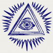 All seeing eye — Stock Photo #13578948