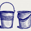 Illustration of bucket — Stock Photo #13579090