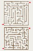 Illustration of maze — Stock Photo