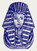 Portrait of Pharaoh — Stock Photo