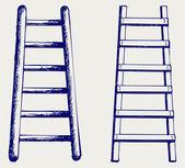 Staircase sketch — Stock Photo