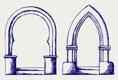 Arch sketch — Stock Photo