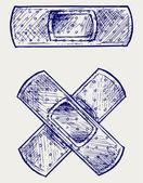 Adhesive bandage — Стоковое фото