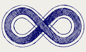 символ бесконечности — Стоковое фото