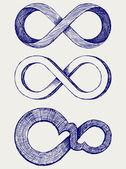 Símbolo do infinito — Foto Stock