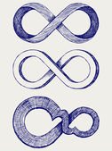 Unendlichkeits-symbol — Stockfoto