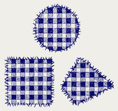 Set patchwork — Stock Photo