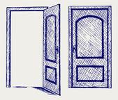 オープンドア — ストック写真