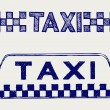 Taxi sign - Stock Vector
