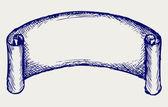 комплект баннеров и ленты — Cтоковый вектор