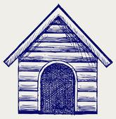Casa de cão — Vetorial Stock