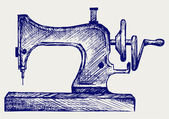 Old sewing machine — Stock Vector