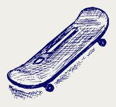 Skateboard — Stock Vector