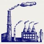 Factory vector — Stock Vector #18131601