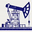 Royalty-Free Stock Vector Image: Concept of oil industry