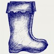 Royalty-Free Stock Vector Image: Rubber boots