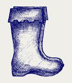 Bottes en caoutchouc — Vecteur