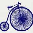 Royalty-Free Stock Vector Image: Penny farthing.
