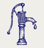 Water pump — Stock Vector
