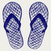 Flip-flops — Vetor de Stock