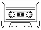 Cassette tape — Stock Vector