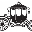 Vintage carriage — Stock Vector #27391821