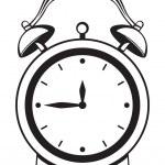 闹钟 — 图库矢量图片