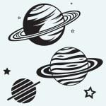 Saturn Planet — Stock Vector #33808715