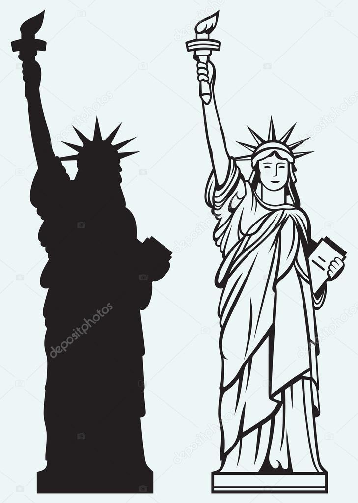 Статуя свободы памятник свободы  США статуя свободы