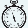 stopwatch pictogram — Stockvector