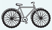 Illustration bicycle — Vector de stock