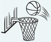 Tablero del baloncesto — Vector de stock
