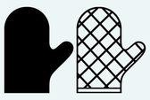 Heat protective mitten — Vetorial Stock