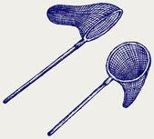 Fishing net — Vettoriale Stock