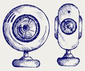 Webcam — Stock Vector