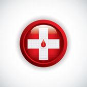 Blood donation — Stockvektor