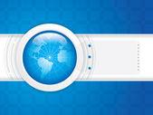 World technology — Stock Vector