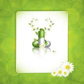 Pilule à base de plantes — Vecteur