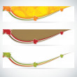 Autumn banners — Stock Vector #28138347
