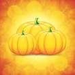 Pumpkins — Stockvektor