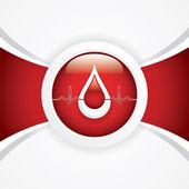 Don de sang — Vecteur