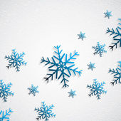 Snowy background — Stock Vector