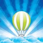 Hot Air Balloon — Stock Vector #39415975