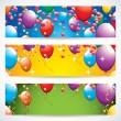 Birthday banners — Stock Vector #42504795