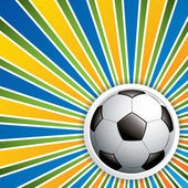 Soccer ball background — Stock Vector