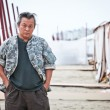 Kim ki Duk on 69 film festival in Venezia - Stockfoto