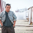 Kim ki Duk on 69 film festival in Venezia - Lizenzfreies Foto