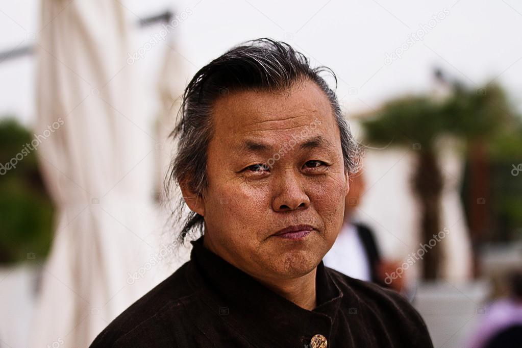 The portrait of korean film director Kim ki Duk — Stock Photo #12718311