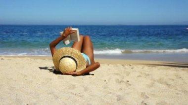 Kitap okuma — Stok video